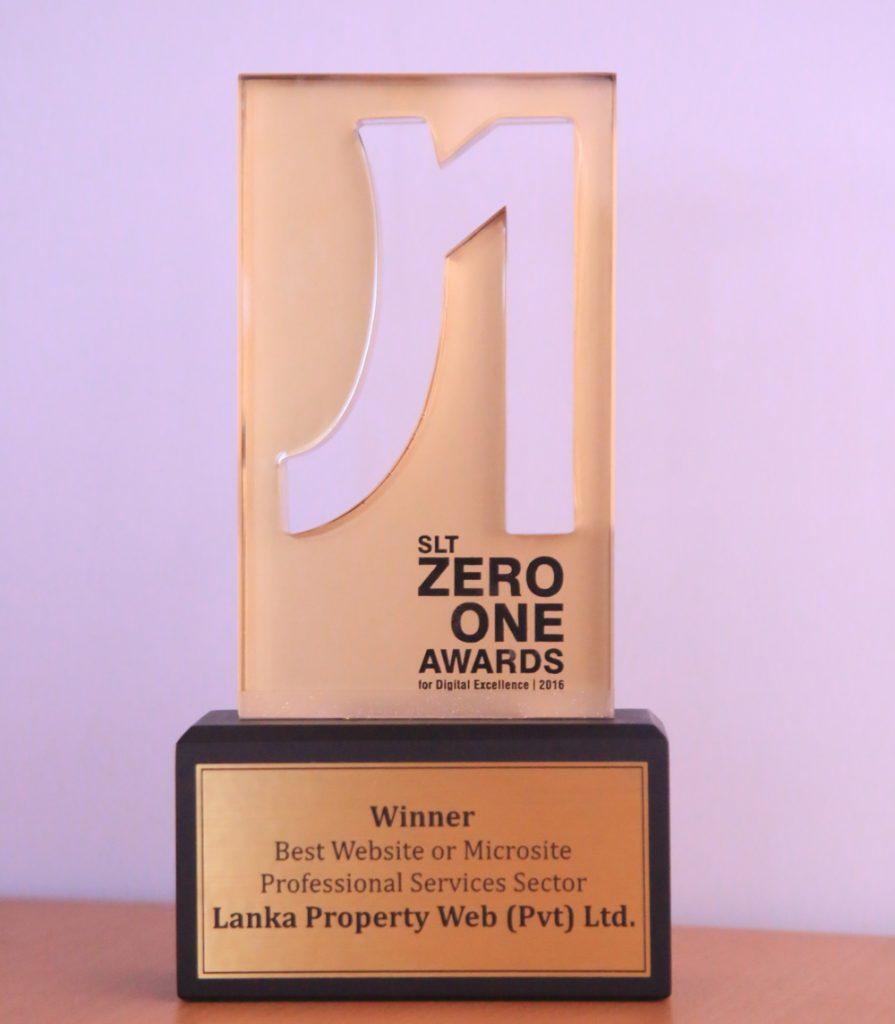 LANKA PROPERTY WEB CROWNED WINNER OF 'BEST WEBSITE' AT THE